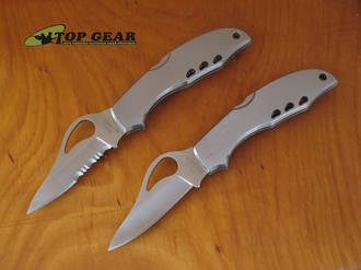 Byrd Meadowlark Knife - Stainless Steel Handle