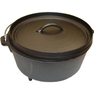 Camp Dutch Oven with Loop Handle - 5.6 L
