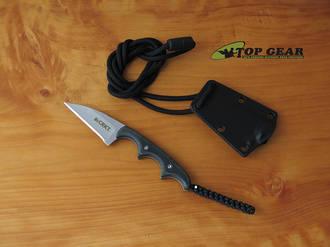 CRKT Folts Minimalist Wharncliffe Neck Knife - 2385