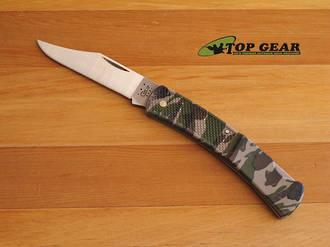 W.R. Case Caliber Small Camo Lockback Pocket Knife - 00118