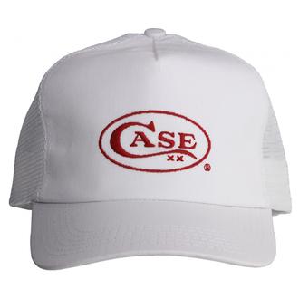 Case XX Adjustable Baseball Cap White with Red Case Logo - 09117