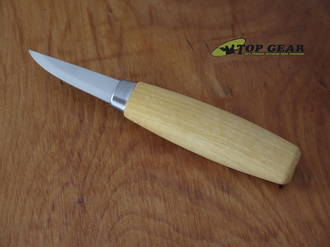Casström No. 06 Classic Wood Carving Knife, Carbon Steel, Birch Handle - 15006
