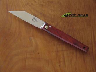 P. Cognet Le Montpellier Douk Douk Pocket Knife, X75 Carbon Steel, Cocobolo Handle - 267P