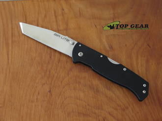 Cold Steel Air Lite Tanto Folding Knife, AUS-10A Stainless Steel - 26WT