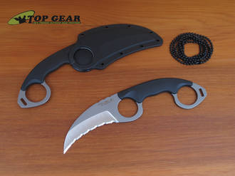 Cold Steel Double Agent I Karambit Knife - Fine or Serrated Edge