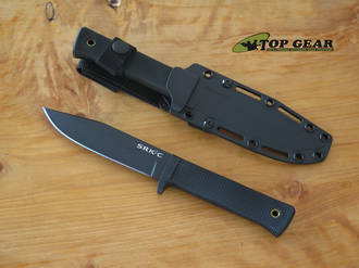 Cold Steel SRK Compact Survival Knife, SK-5 Carbon Steel - 49LCKD