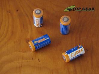 Cytac Energy-Dense Cr123a Non-Rechargeable Lithium Battery 3V - 1500mAh