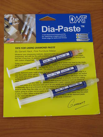 DMT Dia-Paste Compound Kit,  3 Grits -  DPK