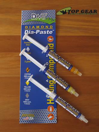 DMT Dia-Paste Sharpening Compound - 3 Grits - DP1/DP3/DP6