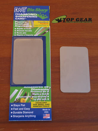 DMT Dia-Sharp Sharpening Card - Fine, Extra Fine or Coarse