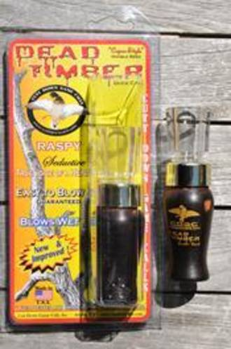 Cutt Down Game Calls Double Reed Duck Call Dead Timber - Cocobola