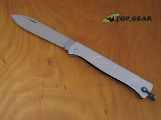 Douk-Douk Squirrel Pocket Knife, Stainless Steel- 840