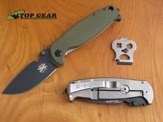 DPx Hest Folder 2.0 Knife, D2 Tool Steel - DPHSF005