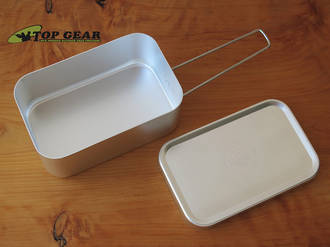 Esee Knives Aluminium Mess/Survival Kit Tin KIT TIN