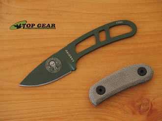 Esee Knives Canvas Micarta Handle Scales for Candiru Knife - CAN-HDL-CAN