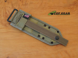 Esee Molle Back for Esee 3 and Esee 4 Knife - Khaki ESEE-42-MB-K