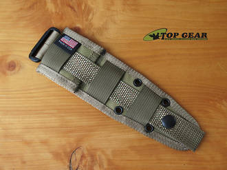 Esee Molle Back for Esee Izula Knife - Khaki