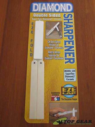 EZE-Lap Eze Fold Double Sided Diamond/Ceramic Sharpener - 530