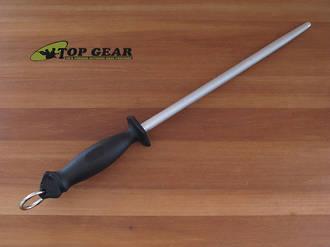 "Egginton 12"" Professional Bulls Head Sharpening Steel, #5 Cut - P443"