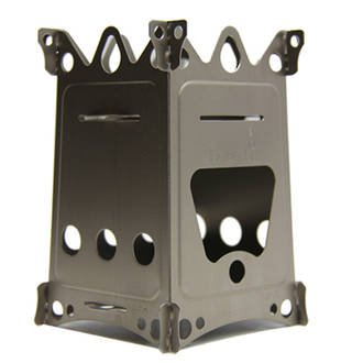 Emberlit FireAnt Ultralight Titanium Backpacking Stove - EL04