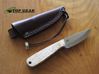 Enzo Necker 70 Fixed Blade Knife -with 12C27 Stainless Steel Blade - 995800