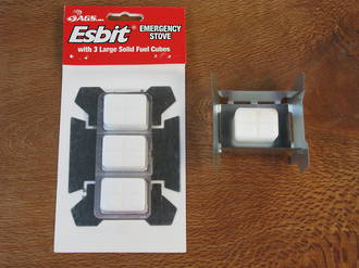 Esbit Hexamine / Solid Fuel Emergency Stove - 7930