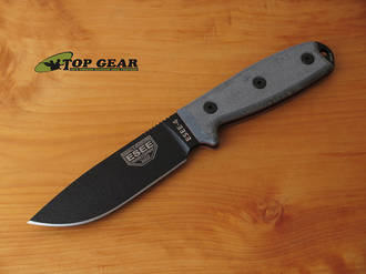 Esee 4 Knife With Standard Pommel, Knife only - ESEE-4PM
