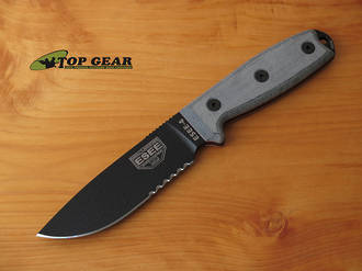 Esee 4 Knife With Standard Pommel - Knife only ESEE-4SM