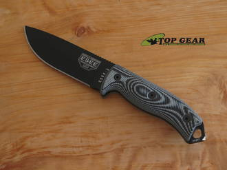 Esee 5 3D 5.25 Inch Fixed Blade Knife, 1095 High Carbon Steel - 5PM-002