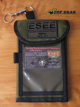 Esee Izula Gear Map Case - Olive Green MAP-CASE