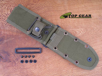 Esee Molle Back For Esee 5 and 6,  Olive Green - ESEE52MBOD
