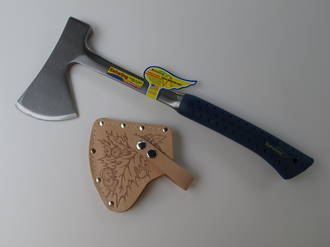 Estwing Camper's Axe with Nylon Belt Sheath - E44A