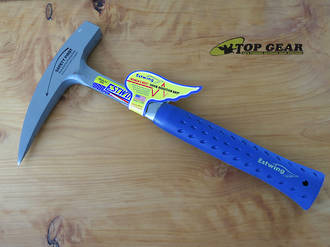 Estwing Rock Picks Geological Hammer with Pointed Tip - E3-22P