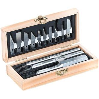 Excel Craftsmen Set in Wooden Box, 13-Piece - 44283