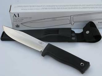 Fallkniven A1Z Army Survival Knife, Satin Finish - A1Z