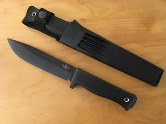 Fallkniven A1 Army Survival Knife with Black Teflon Blade - A1BZ