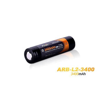 Fenix ARB-L2-3400 Rechargeable 18650 Li-On Battery with Protection Circuit - ARB-L18-3400