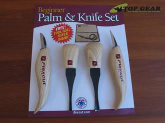Flexcut Palm & Knife Set with 4 Profiles - KN600