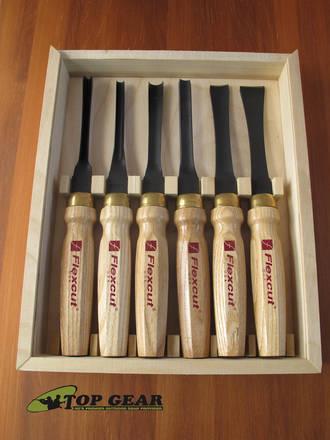 Flexcut Mallet Tool Starter Carving Set; 6 Pieces - MC150