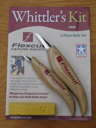 Flexcut Whittlers Kit 2 Piece Knife Set - KN300