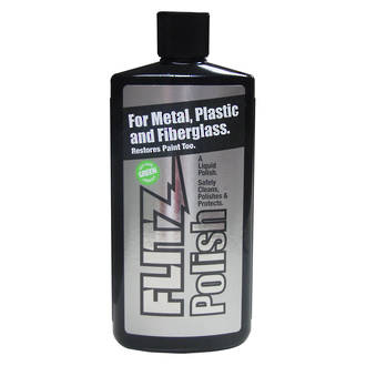 Flitz Metal, Plastic and Fiberglass Polishing Paste, 225 Grams - 04587