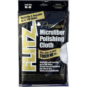 Flitz Premium Microfiber Polishing Cloth - MC200