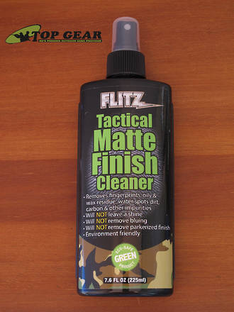 Flitz Tactical Matte Finish Cleaner 225 ml - TM 81585