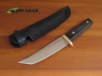 Fox Samurai Tanto Knife with Brass Hilt - FX634