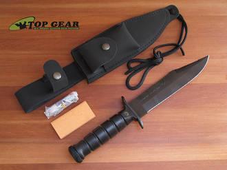 Fox Military Explorer Survival Knife - 697
