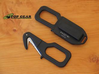 Fox Rescue Emergency Tool / Seat Belt Cutter, Black - 640