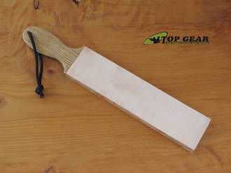 "Garos Goods 2"" Double-Sided Leather Paddle Strop - GG2DSLS"