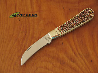 George Wostenholm IXL Pruning/Gardening Knife with Stag Handle - 8100IS1