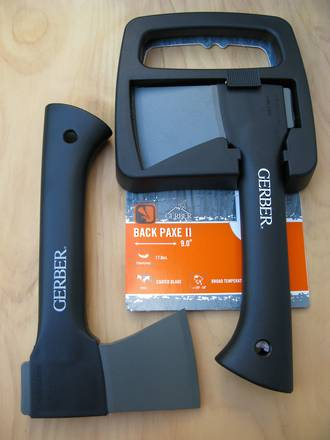 Gerber Pack Paxe II Hatchet with Sheath - 31-000912