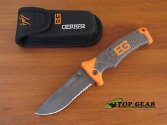 Gerber Bear Grylls Folding Sheath Knife - 31-000752